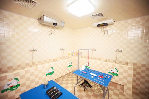 海拉尔店洗澡区